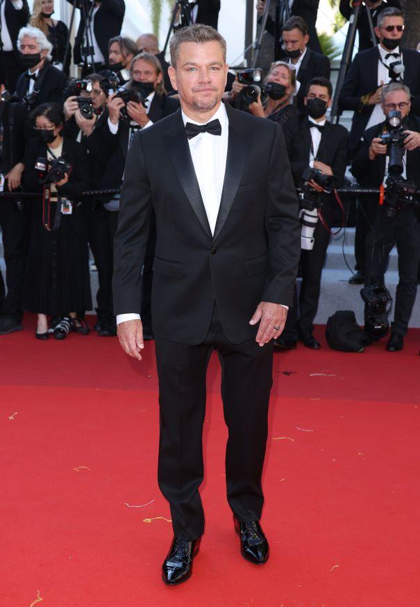 Matt Damon Dapper At Cannes