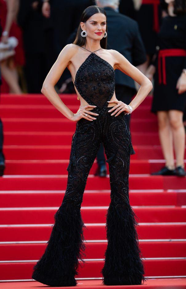 Izabel Goulart On The Cannes Steps