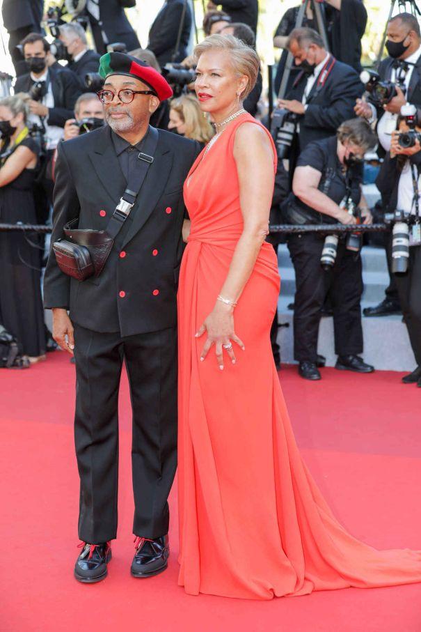 Spike Lee, Tonya Lewis Lee Out In France