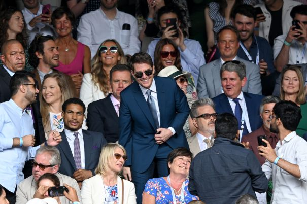 Tom Cruise Takes Wimbledon