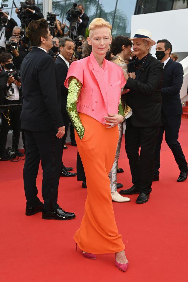 Tilda Swinton Bold In France