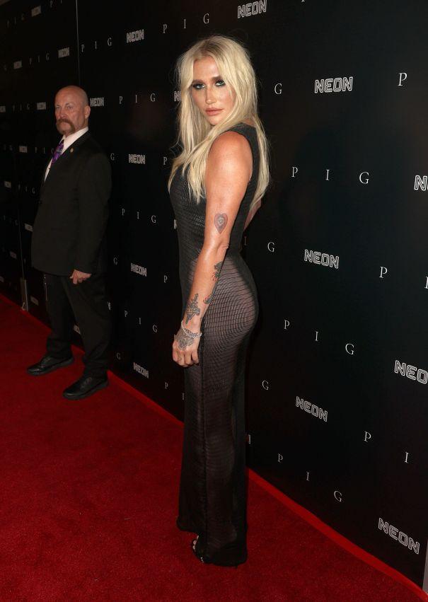 Kesha In Mesh-a
