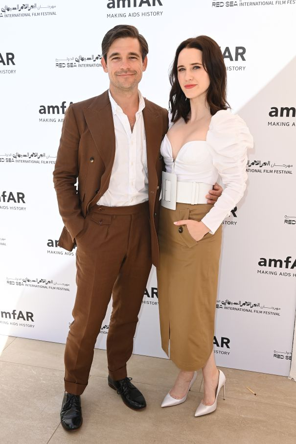 Rachel Brosnahan And Husband At Cannes