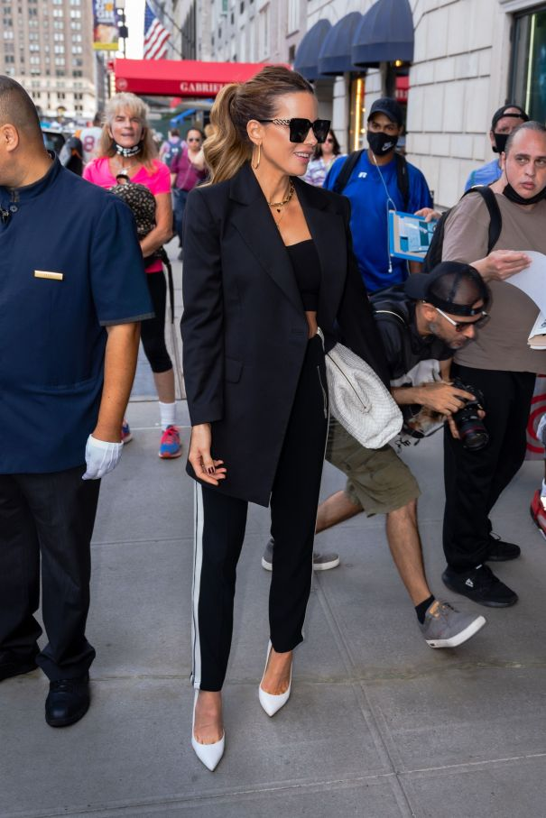 Kate Beckinsale Takes NYC