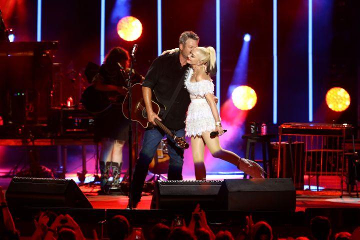 Blake Shelton and Gwen Stefani – Photo: Terry Wyatt/Getty Images