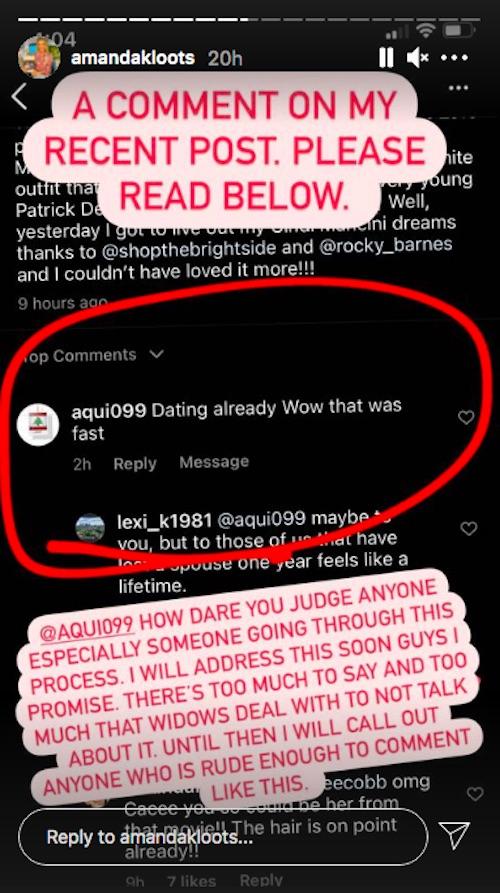 Amanda Kloots/Instagram