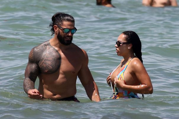 Roman Reigns Dips His Ink In Miami