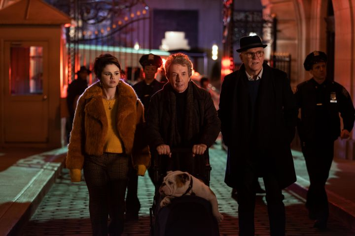 "Selena Gomez, Martin Short and Steve Martin in ""Only Murders in the Building"" – Photo: Craig Blankenhorn/Hulu"