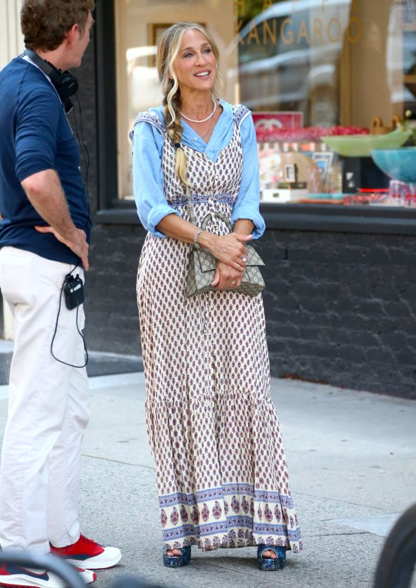 Sarah Jessica Parker Films 'And Just Like That...' In NYC