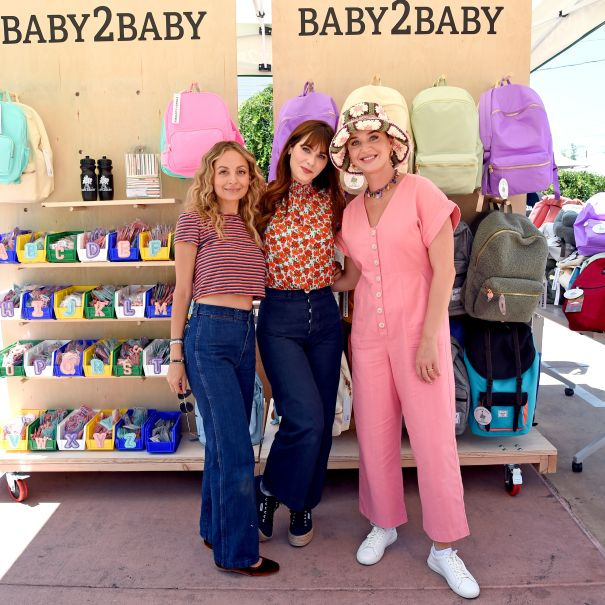 Katy Perry, Zooey Deschanel And Nicole Richie Attend Baby2Baby Event