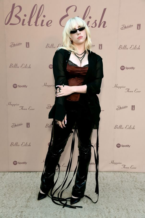 Billie Eilish Celebrates 'Happier Than Ever' Release