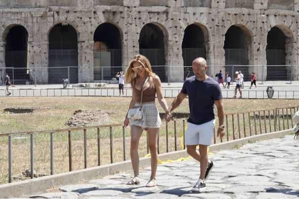 Chrishell Stause And Jason Oppenheim Are Loved-Up In Rome