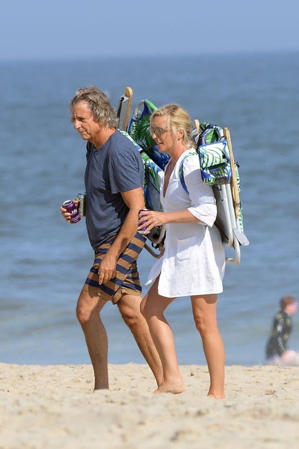 Jane Krakowski, David Rockwell Hit The Hamptons