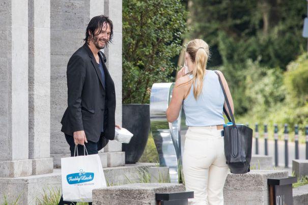 Keanu Reeves Does Berlin