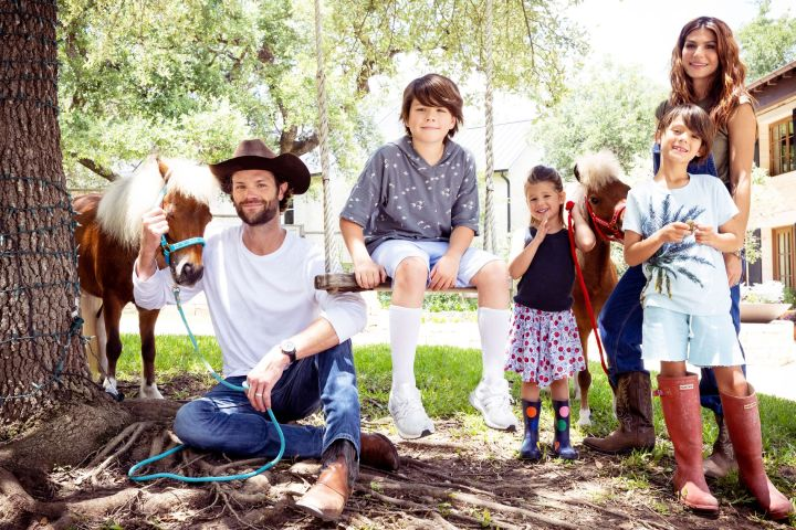 """Jared Padalecki gives home tour to """"AD"""". Credit: Michael Muller/AD"""