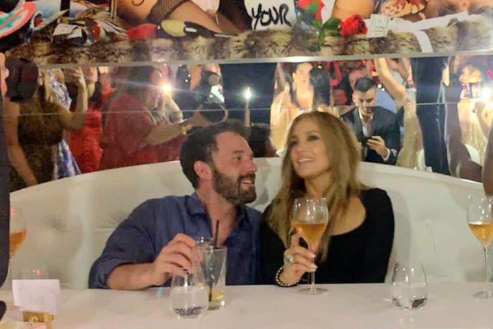 Ben Affleck, Jennifer Lopez.