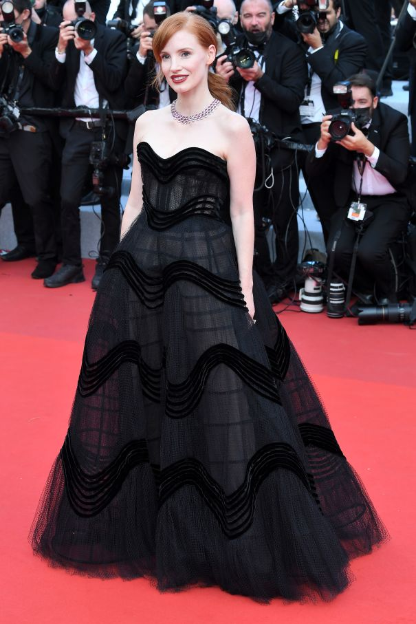Jessica Chastain is Gothic Chic