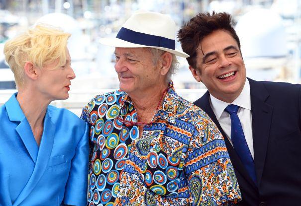 Tilda Swinton, Bill Murray And Benicio Del Toro Light Up Cannes
