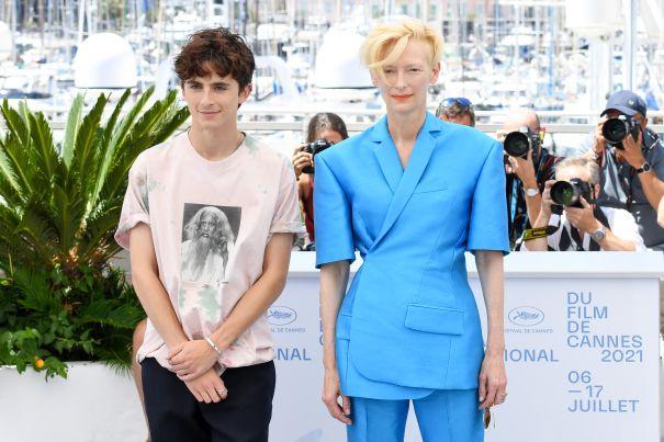 Timothée Chalamet And Tilda Swinton Bring The Style
