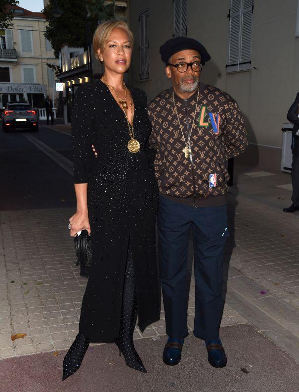Spike Lee With Wife Tonya Lewis