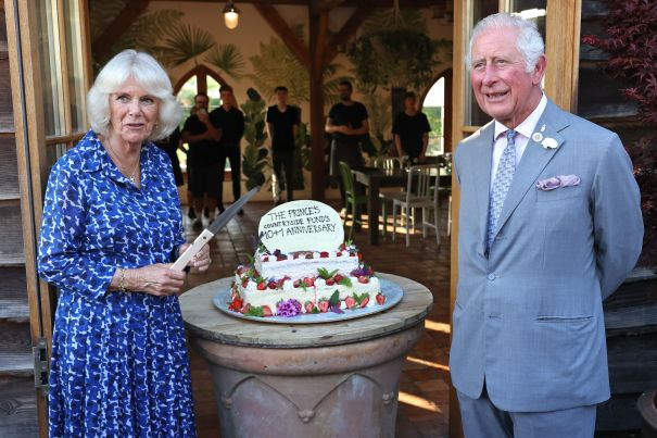 A Piece Of Cake For Camilla And Charles