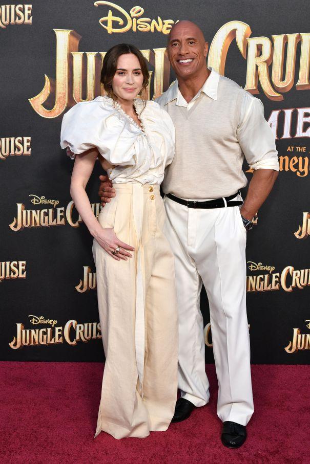 Emily Blunt & Dwayne Johnson