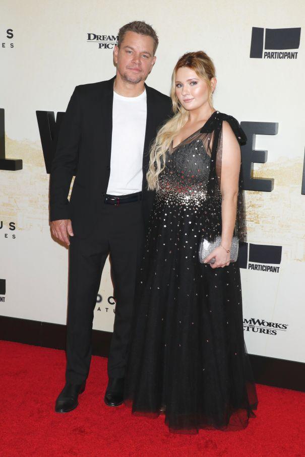 Matt Damon & Abigail Breslin
