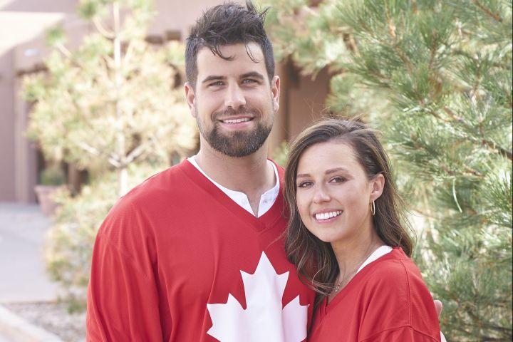 Katie Thurston and Blake Moynes