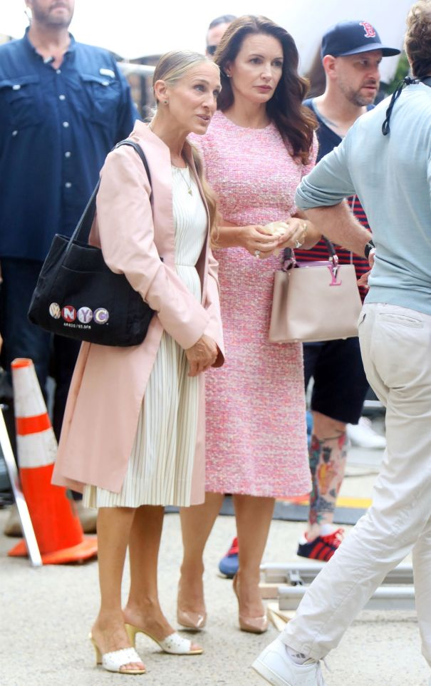Pretty In Pink For 'Sex And The City'