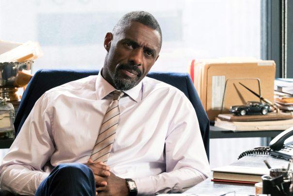 Idris Elba Cracks His Knuckles