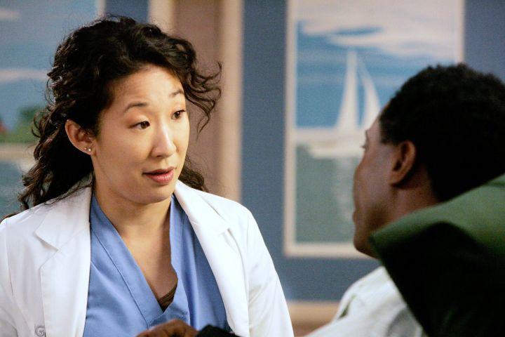"Sandra Oh on ""Grey's Anatomy"""