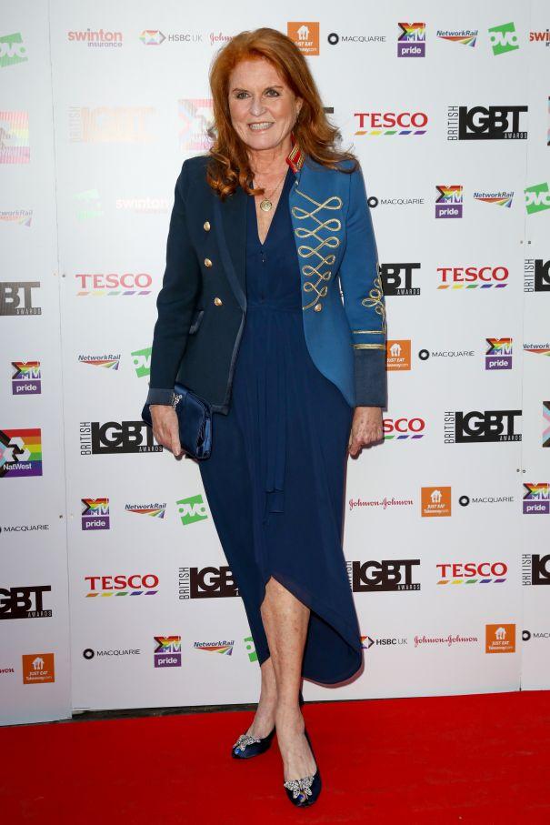 Fergie Attends LGBT Awards