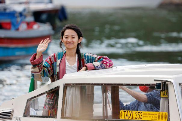Chloe Zhao Ready For Italy