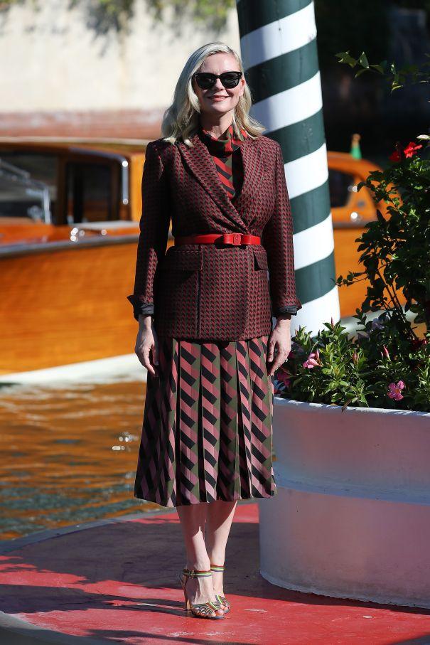 Kirsten Dunst Channels Autumn