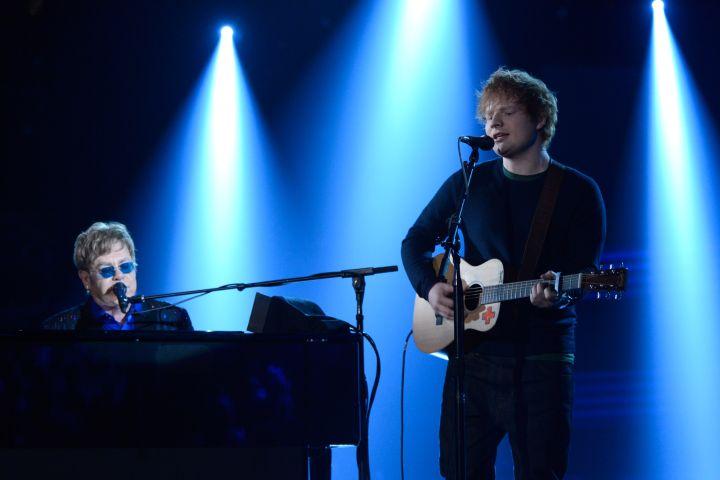 Elton John and Ed Sheeran.