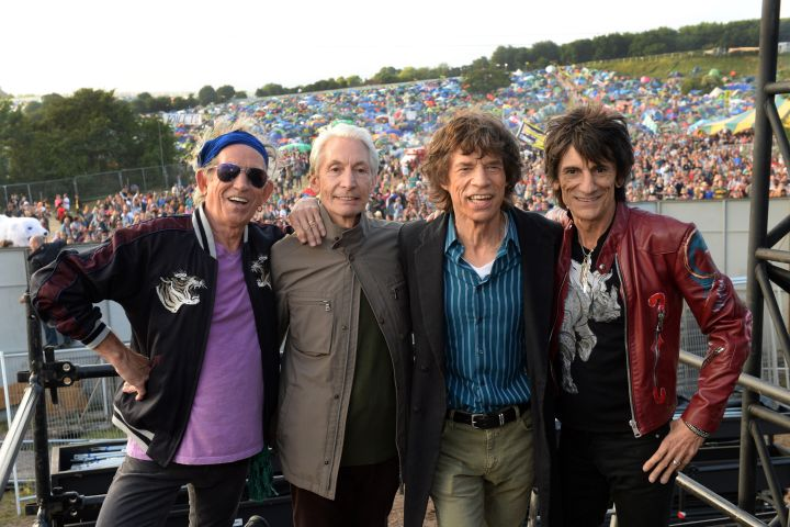 Keith Richards, Charlie watts, Mick Jagger and Ronnie Wood of The Rolling Stones
