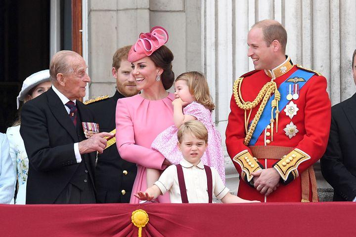Prince Philip, Kate Middleton, Prince William