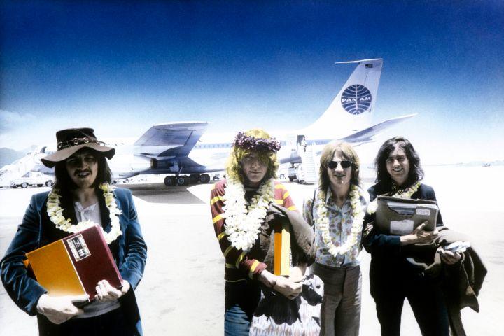 John Bonham, Robert Plant, John Paul Jones, Jimmy Page of Led Zeppelin