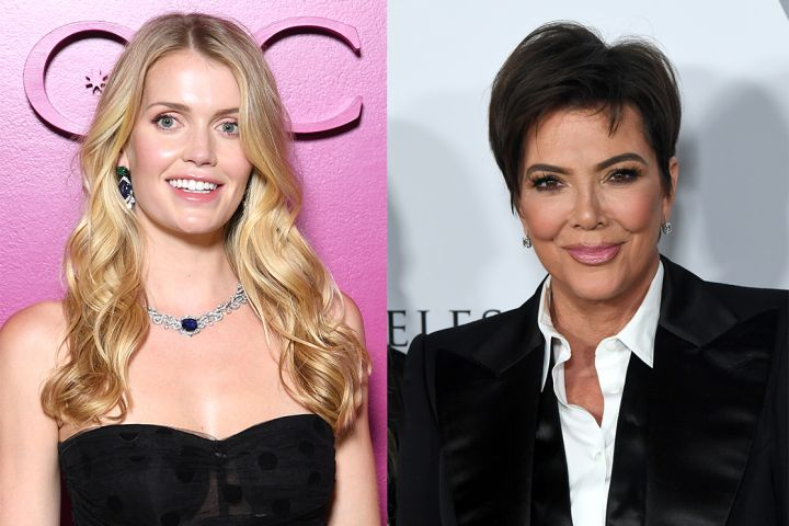 Lady Kitty Spencer and Kris Jenner