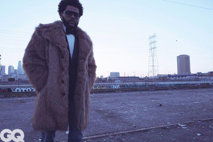 The Weeknd. Credit: Daniel Jackson/GQ