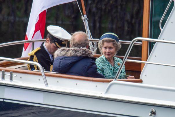 Imelda Staunton Sets Sail In 'The Crown'
