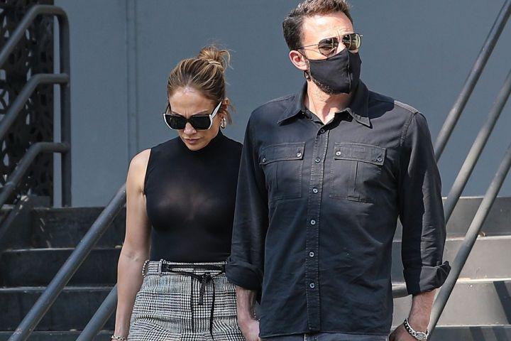 Jennifer Lopez, Ben Affleck.