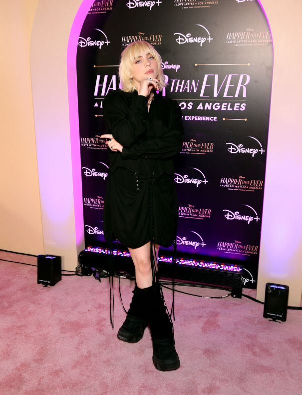Billie Eilish Attends 'Happier Than Ever: A Love Letter To Los Angeles' Premiere