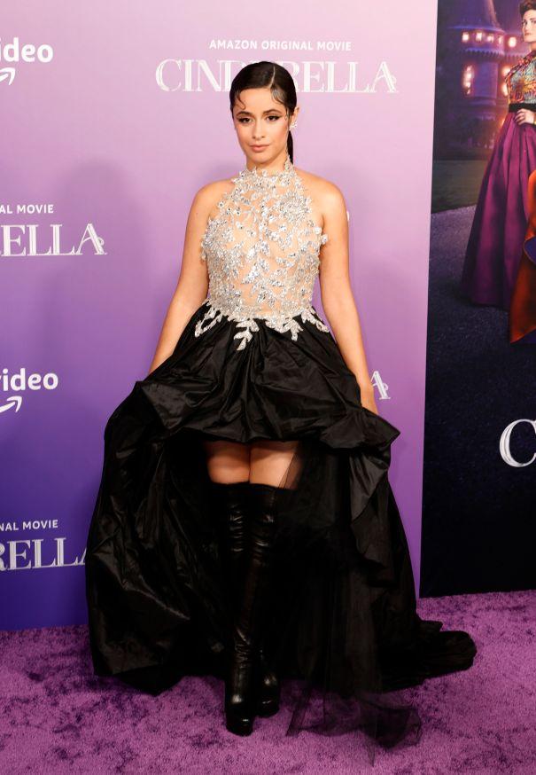 Camila Cabello Stuns On Red Carpet At 'Cinderella' Premiere