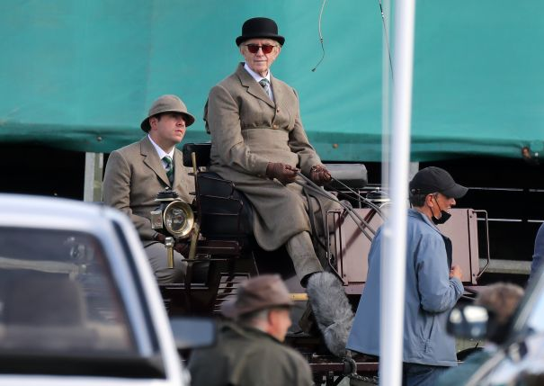 First Look At Jonathan Pryce As Prince Philip
