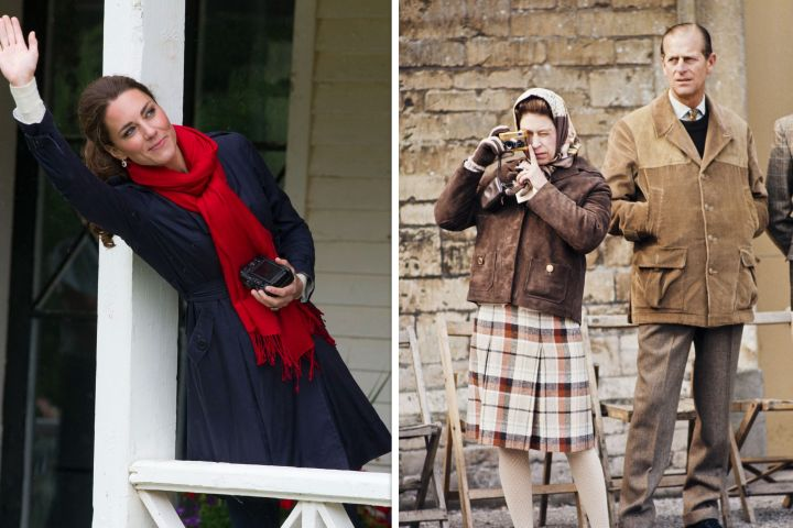 Kate Middleton, Queen Elizabeth, Prince Philip