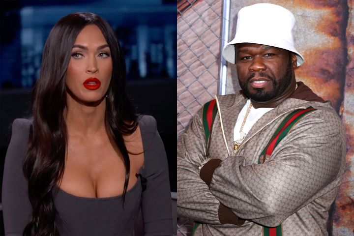 Megan Fox and 50 Cent
