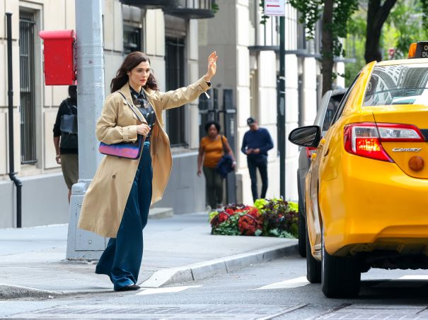 Rachel Weisz On The Move