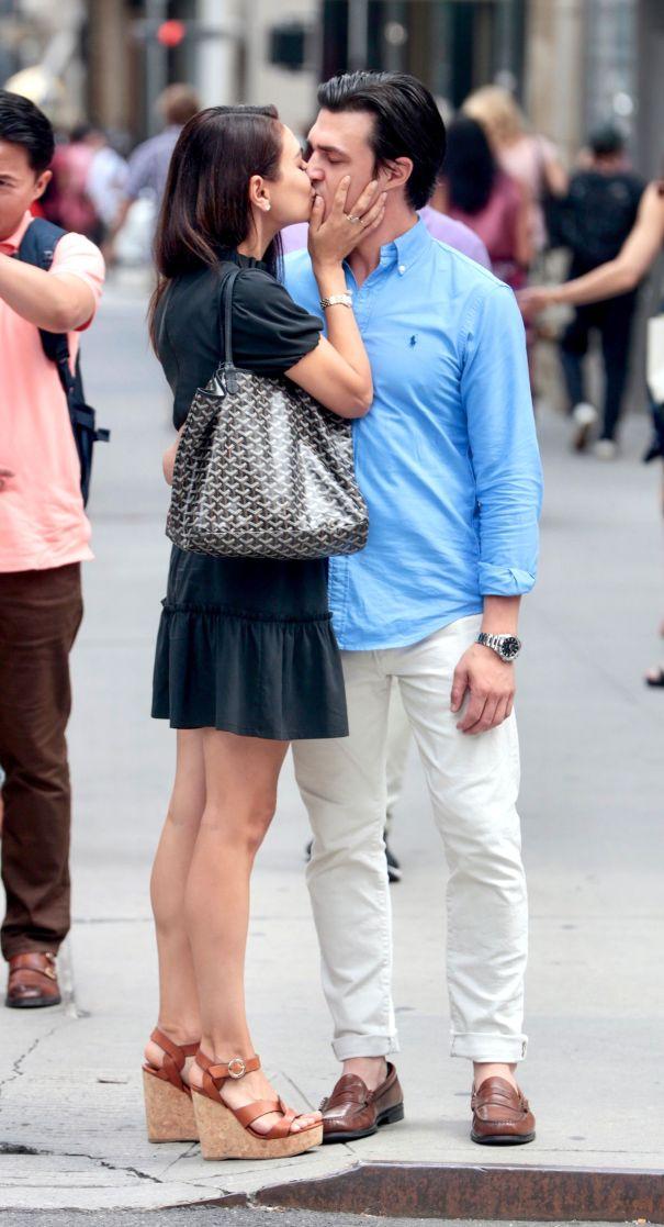 Mila Kunis and Finn Wittrock Film 'The Luckiest Girl Alive'