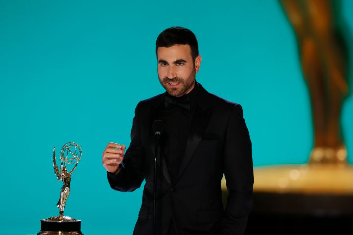 Brett Goldstein from 'Ted Lasso' appears at the 73RD EMMY AWARDS,
